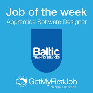GetMyFirstJob | Job of the Week - Apprentice Software Designer