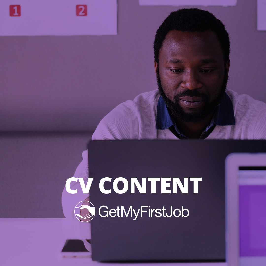 What you need in your CV